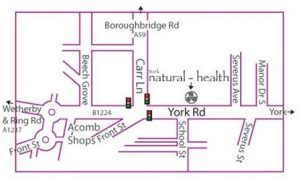 York-natural-health-map